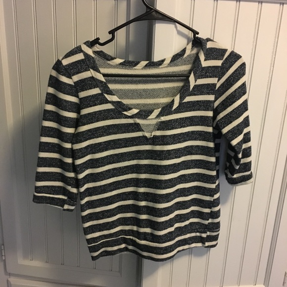 PacSun Tops - Small pacsun striped top-very cozy